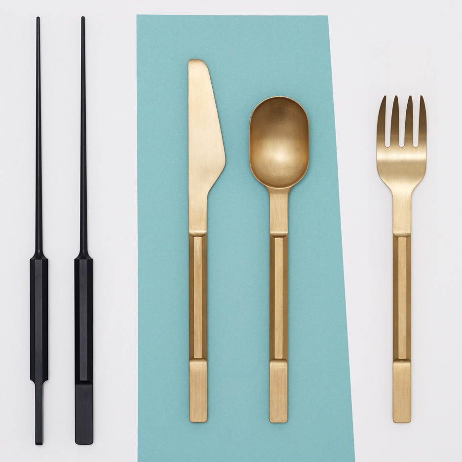 "Maarten Baas and Koichi Futatsumata design ""quirky high-end"" cutlery collections"