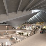 An atrium will reveal the underside of the former Commonwealth Institute's concrete roof