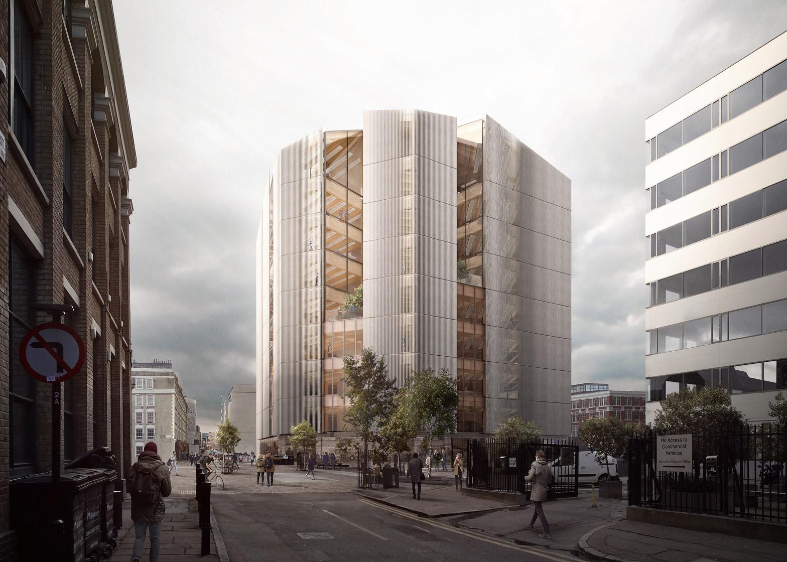 Development House by Waugh Thistleton