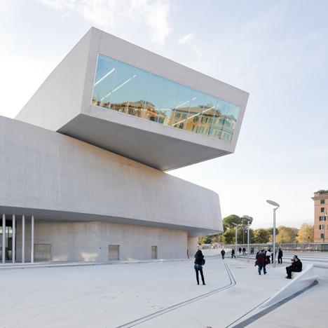 MAXXI museum by Zaha Hadid