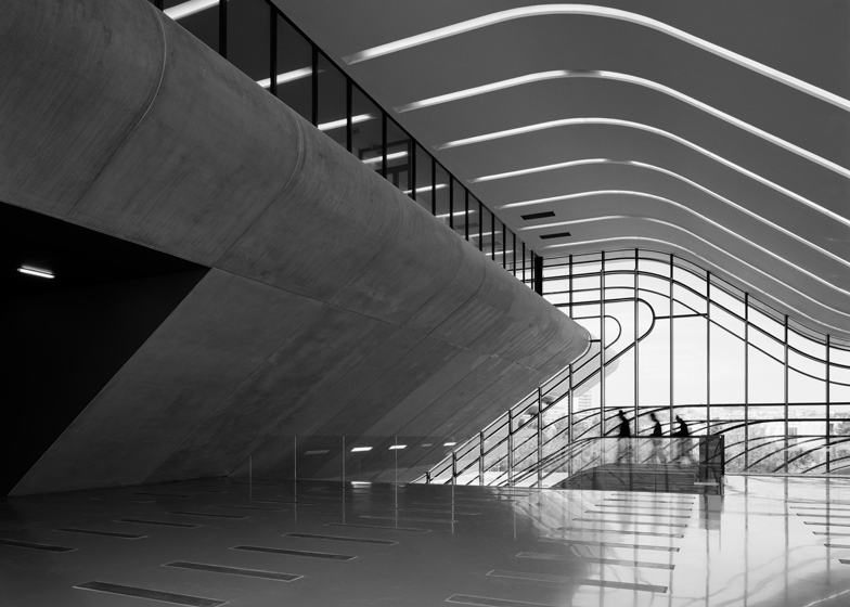 Zaha Hadid's Pierresvives, Montpellier, France