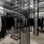 Black Comme Des Garçons on the ground floor