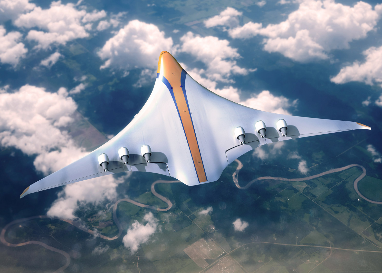 aph reveals concept for low emission commercial aircraft