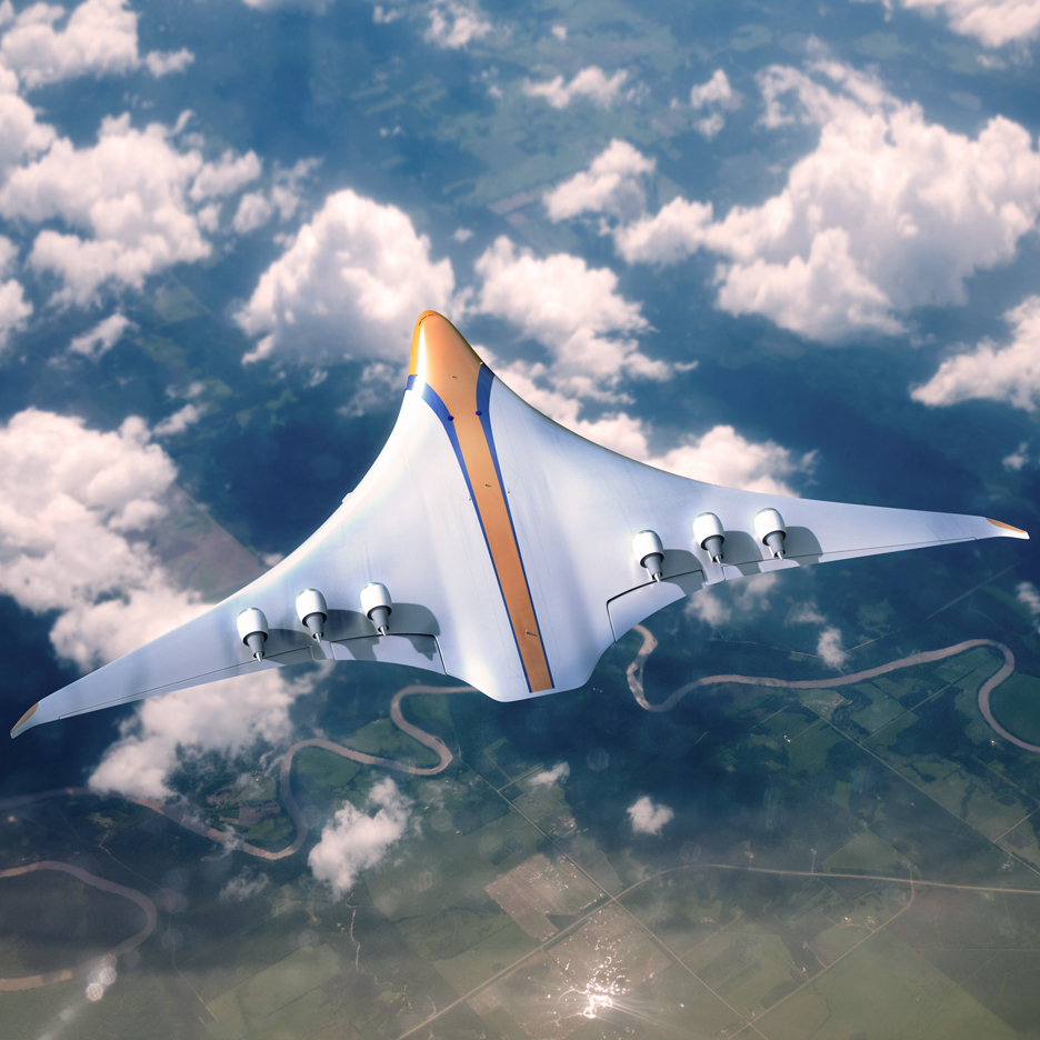 "APH reveals ""futuristic"" concept for low-emission commercial aircraft"