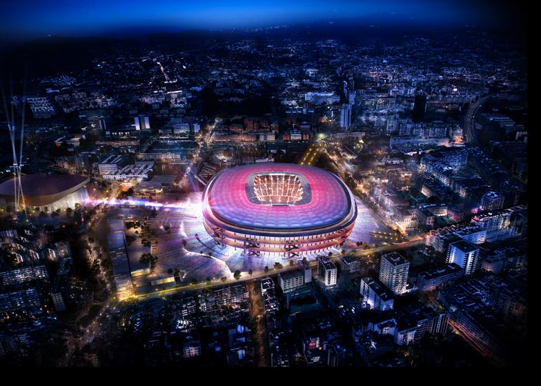 Camp Nou by Nikken Sekkei
