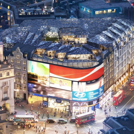 Piccadilly Circus redevelopment by Fletcher Priest