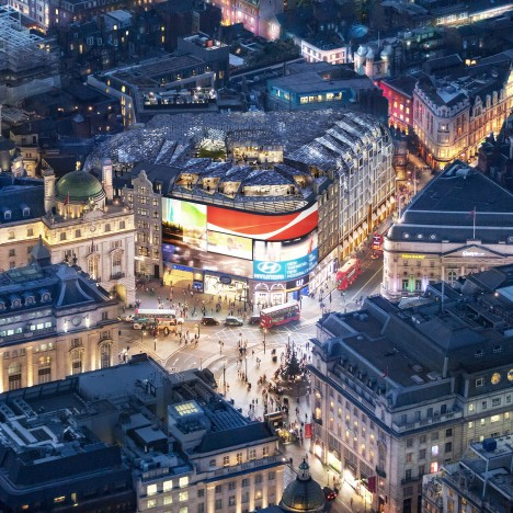 Fletcher Priest wins approval for major Piccadilly Circus redevelopment