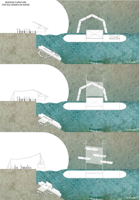 Floating arts centre for Idle women by Muf