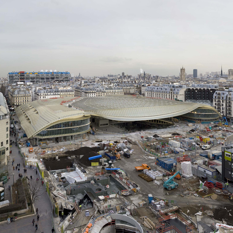 Forum des Halles by Pierre Berger and Jacques Anziutti architects