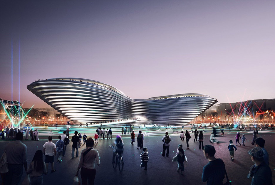 Foster+Partners' Mobility Pavilion from the Dubai Expo 2020