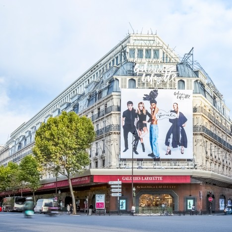 Amanda Levete selected to remodel Paris' Galeries Lafayette department store