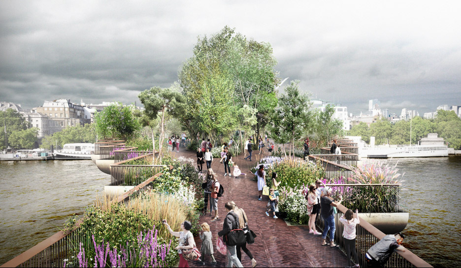 Garden Bridge moves to construction despite controversy