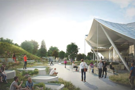 BIG and Heatherwick rework Google HQ design for smaller Mountain View site