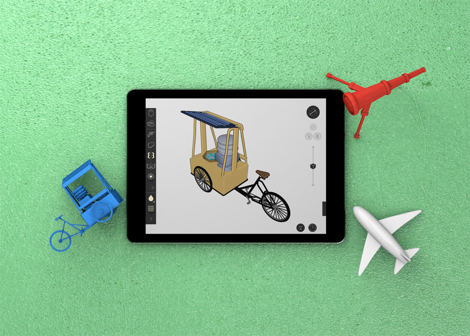 Gravity Sketch app software for 3D modeling