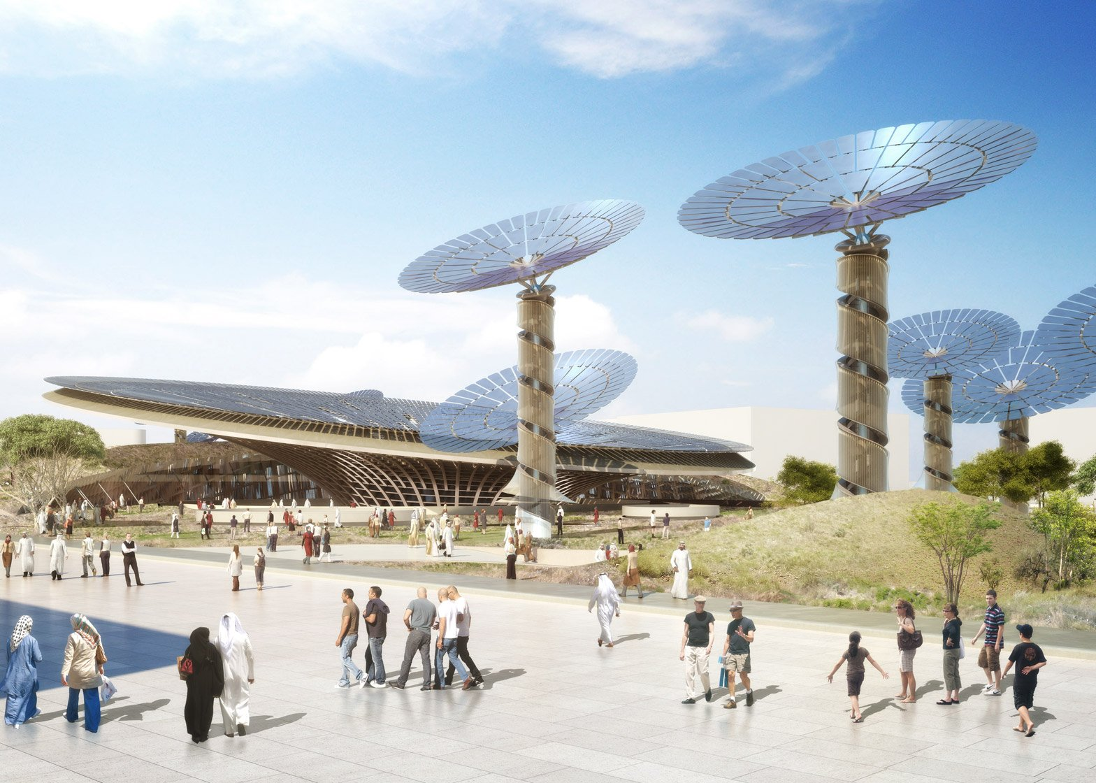 Grimshaw Architect's Sustainability Pavilion from the Dubai Expo 2020