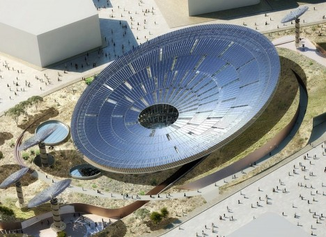 Grimshaw Architect's Sustainability Pavilion for the Dubai Expo 2020