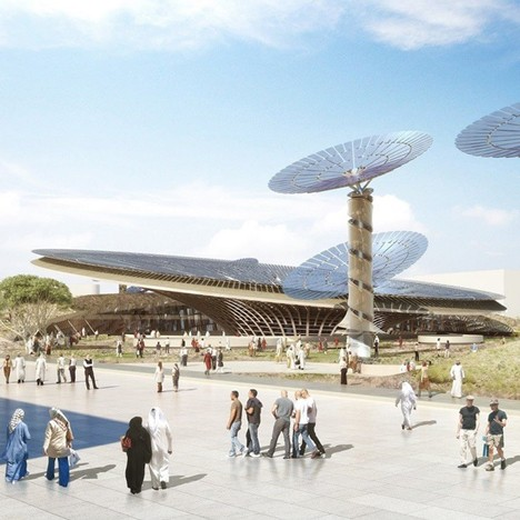 Foster, BIG and Grimshaw reveal designs for 2020 Dubai Expo pavilions