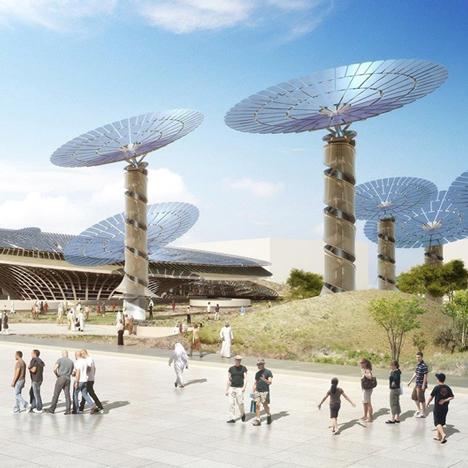 Grimshaw Architect's Sustainability Pavilion from the Dubai Expo 2020