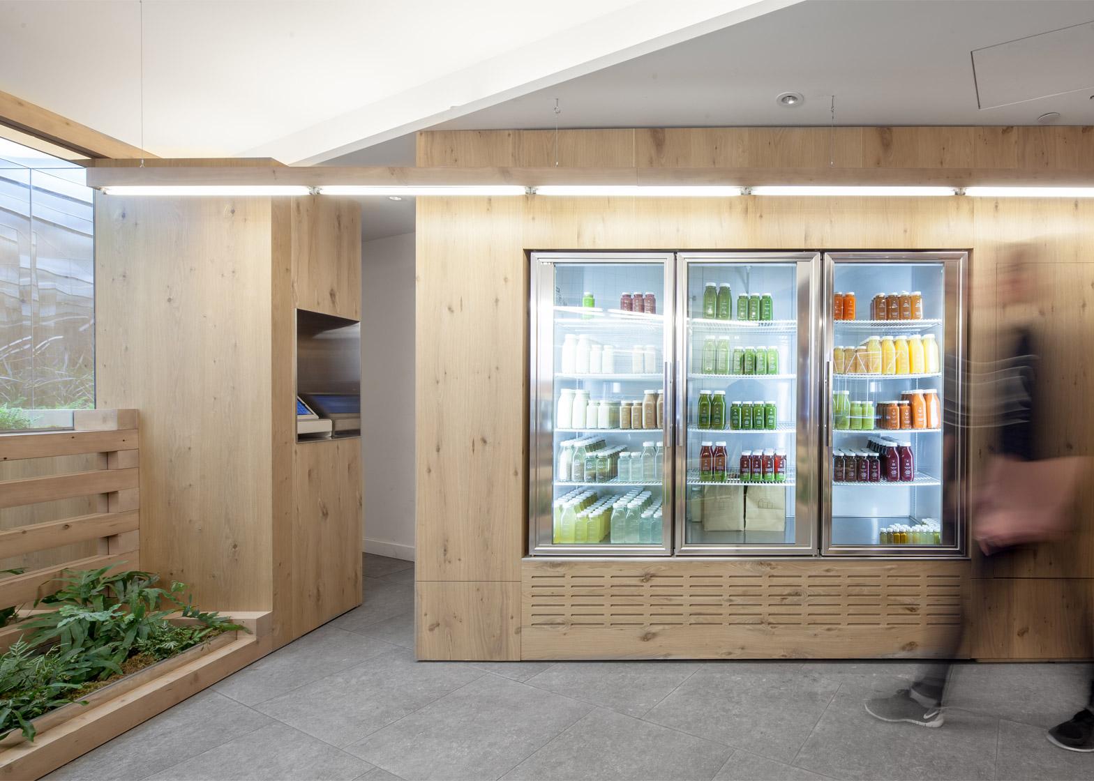 3 Of 5 Grow Op Juice Bar In Toronto By Kilogram Studio