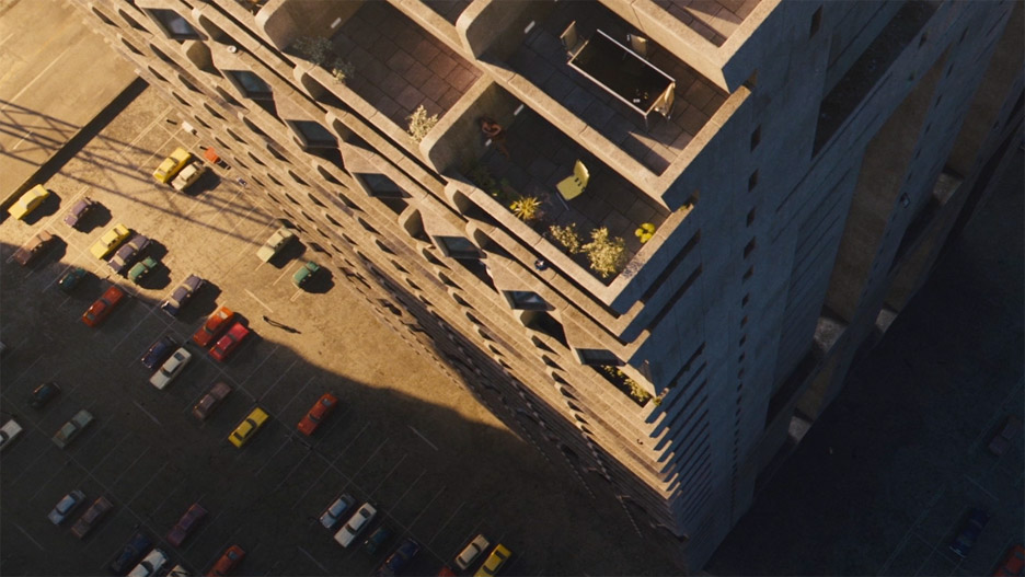 Interview on High-rise directed by Ben Wheatley with production design by Mark Tildesley