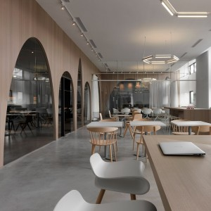Pernilla Ohrstedt designs collaborative office for Dezeen