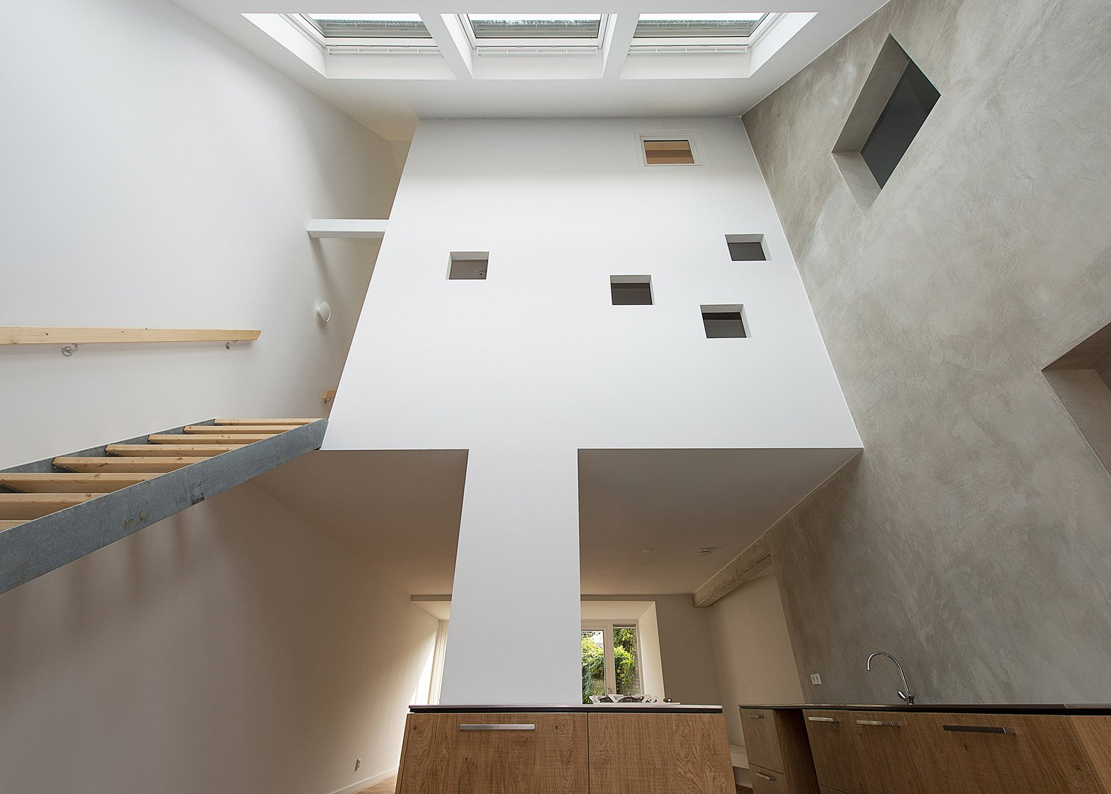 House in a House by Global Architects photographed by Mirko Merchiori