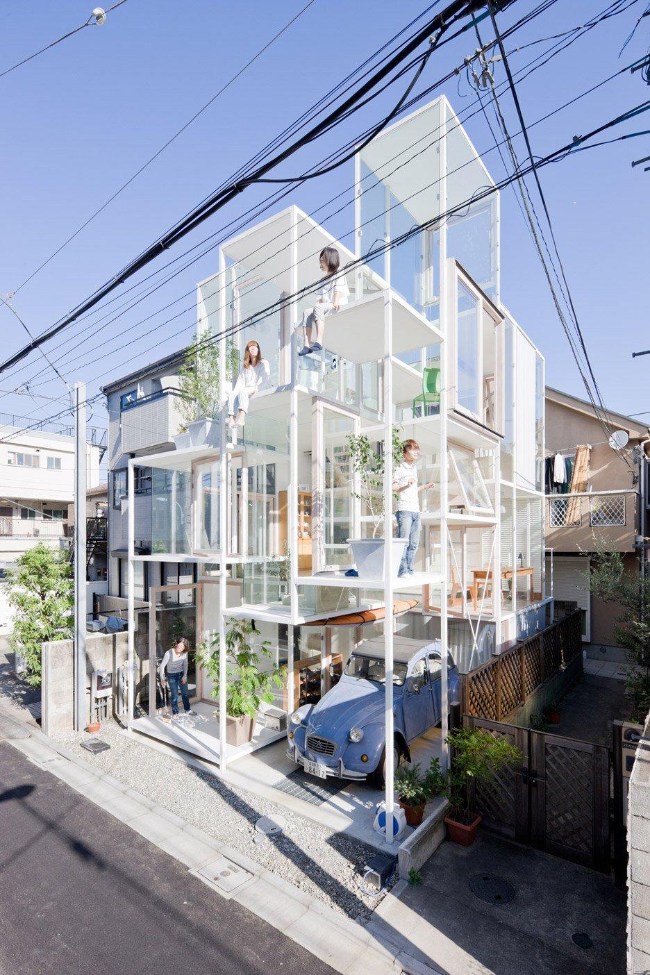 House NA, Tokyo, Japan by Sou Fujimoto, 2007–2011