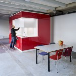 Abandoned buildings can be converted into homes with modular kitchen and bathroom block