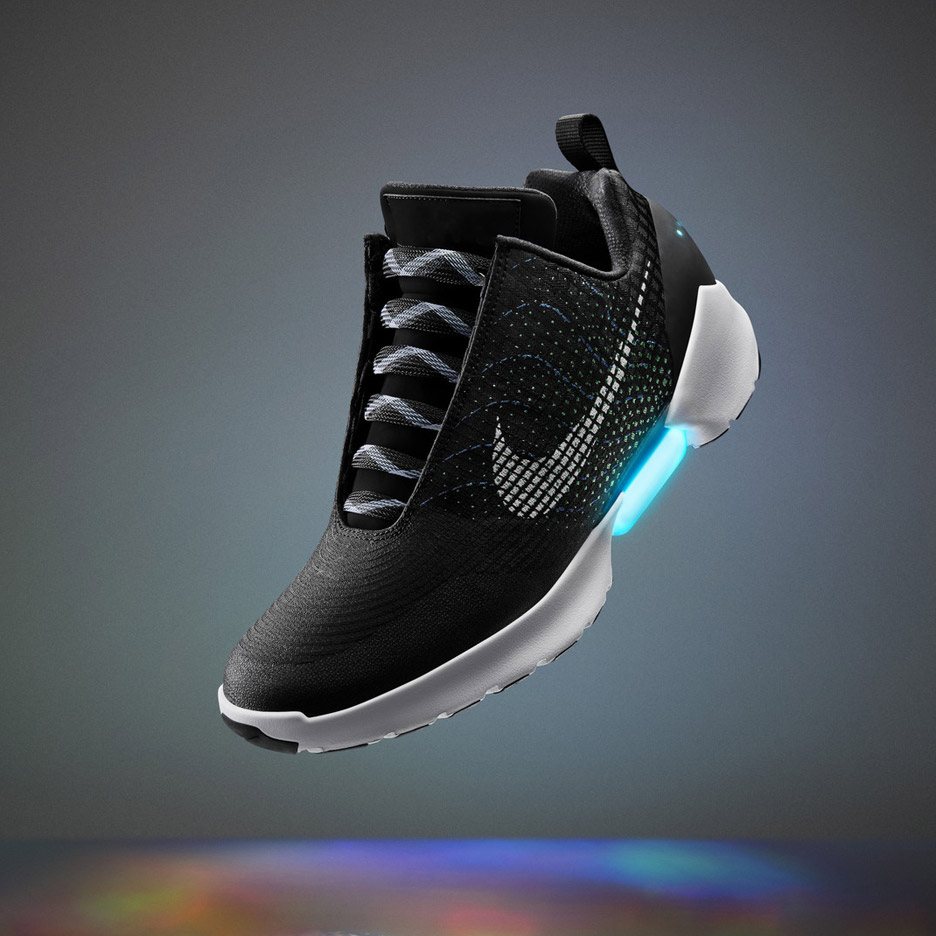 Nike Hyperadapt self-lacing trainers