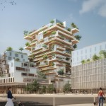 Jean Paul Viguier selected ahead of Sou Fujimoto for timber-framed tower complex in Bordeaux