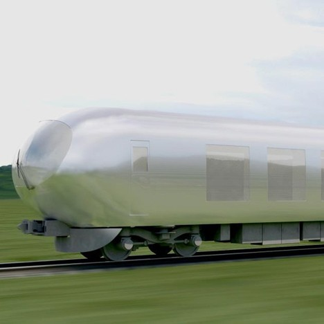 Kazuyo Sejima to design mirrored Japanese commuter train