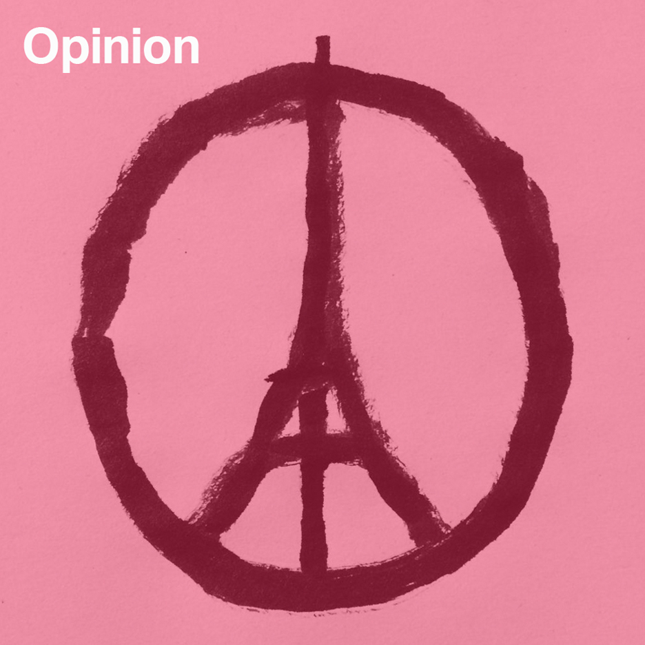 Peace for Paris by Jean Julien