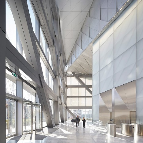 JTI Headquarters in Geneva by SOM
