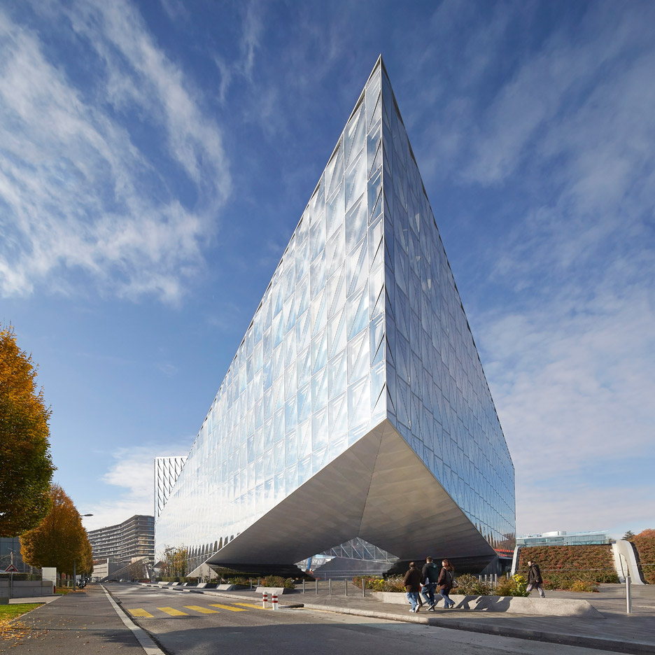 SOM builds new Geneva headquarters for Japan Tobacco International
