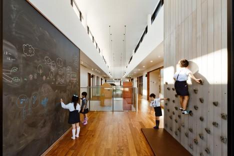 Kindergarten by Hibinosekkei and Youji no Shiro