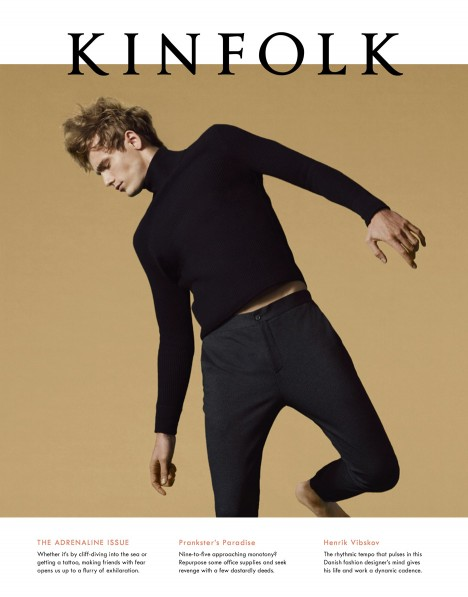 The cover of Kinfolk Issue 19, The Adrenaline Issue