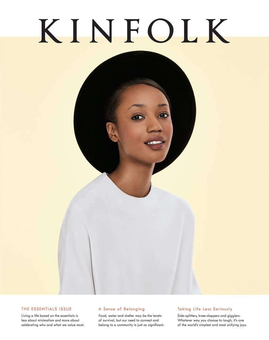 The cover of Kinfolk Issue 16, The Essentials Issue