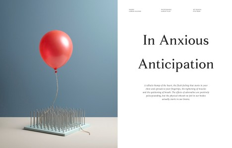 Page spread from Kinfolk Issue 19, The Adrenaline Issue