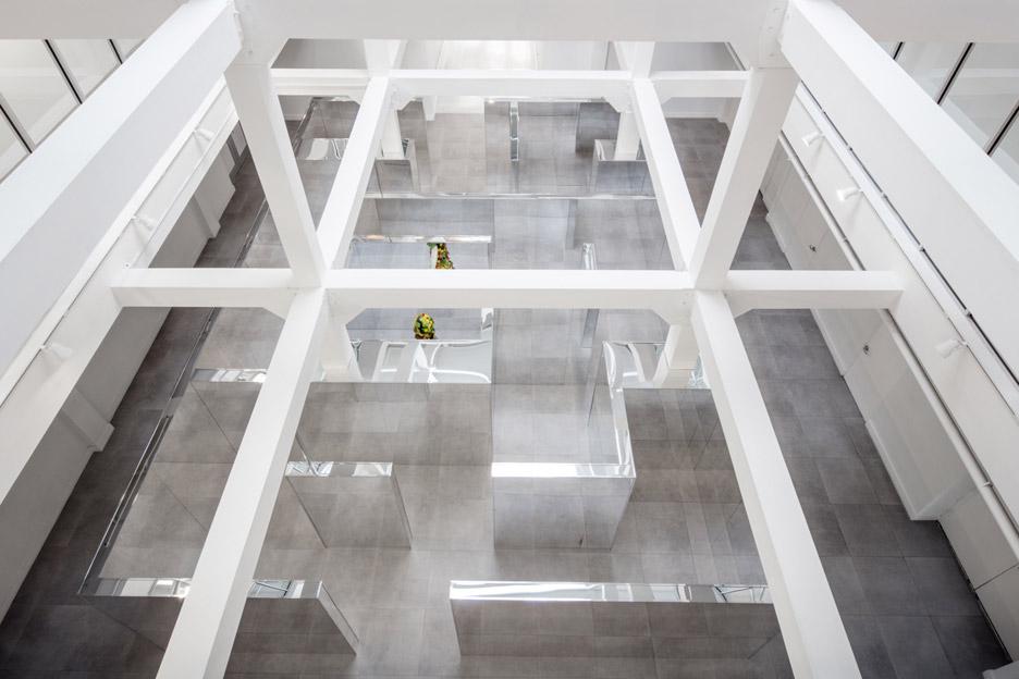 Labyrinthine Installation by John Miller