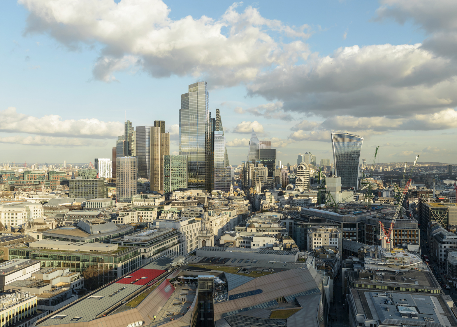 Future vision of the City of London