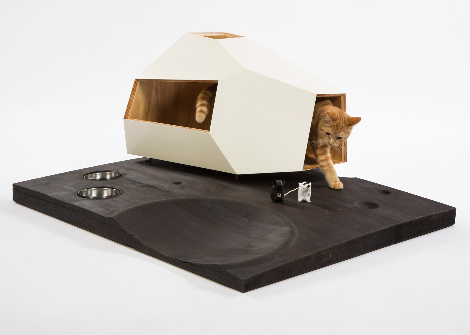 Lunar Cat Lander by Knowhow Shop