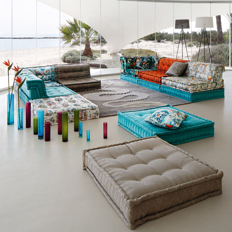Roche Bobois Mah Jong Sofa In New Movie And Recreated For Charity