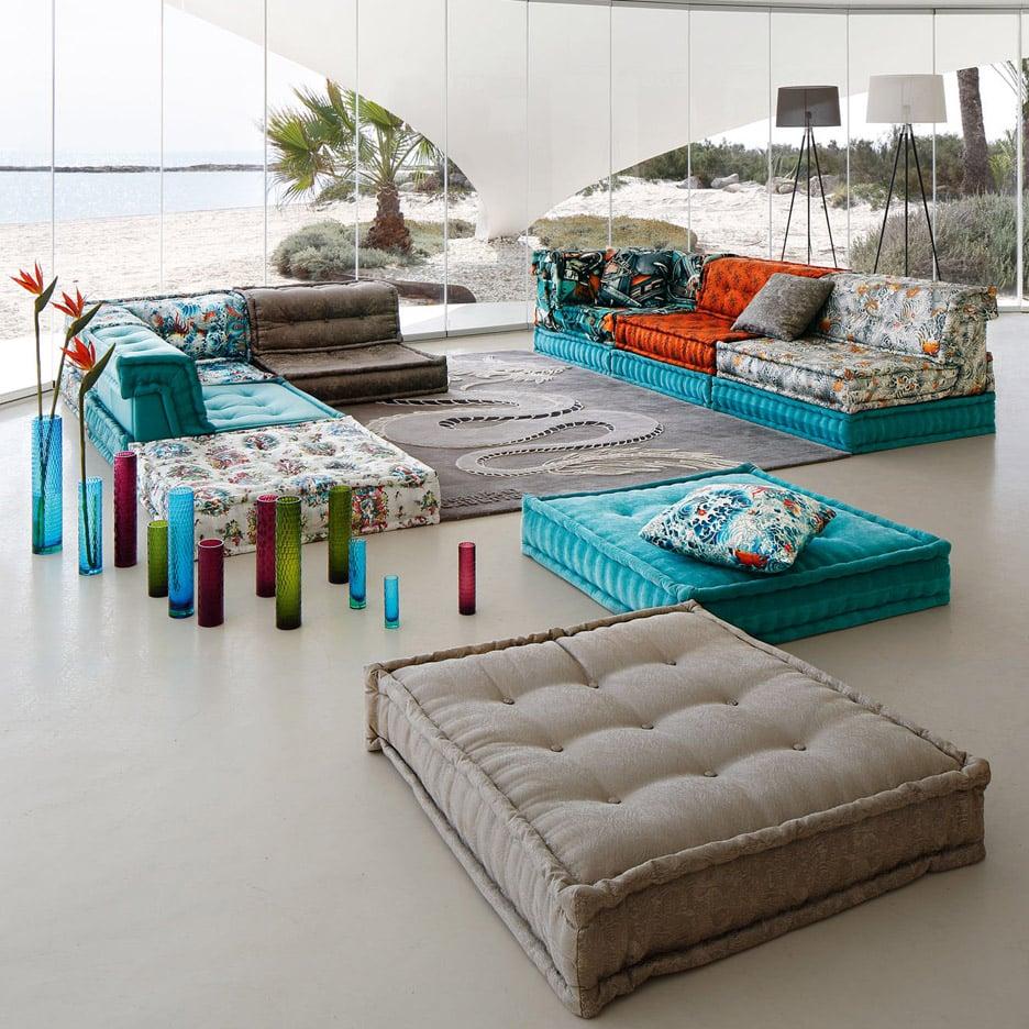3novices roche bobois mah jong sofa shown in new movie and reinterpreted for - Roche bobois mah jong sofa ...
