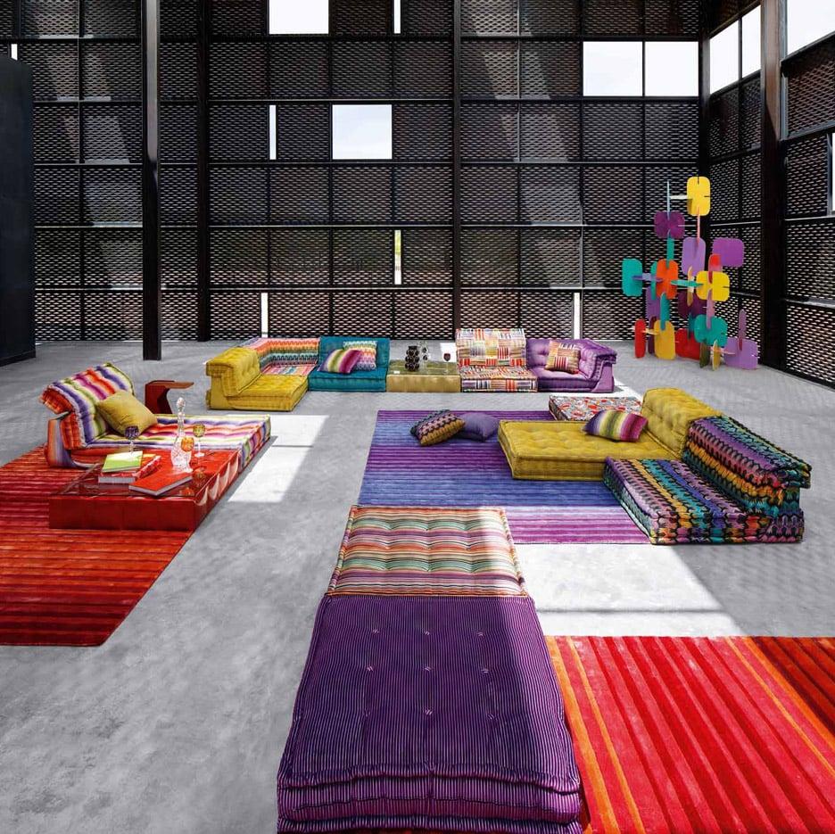 3novices roche bobois mah jong sofa shown in new movie and reinterpreted for - Mah jong roche bobois ...