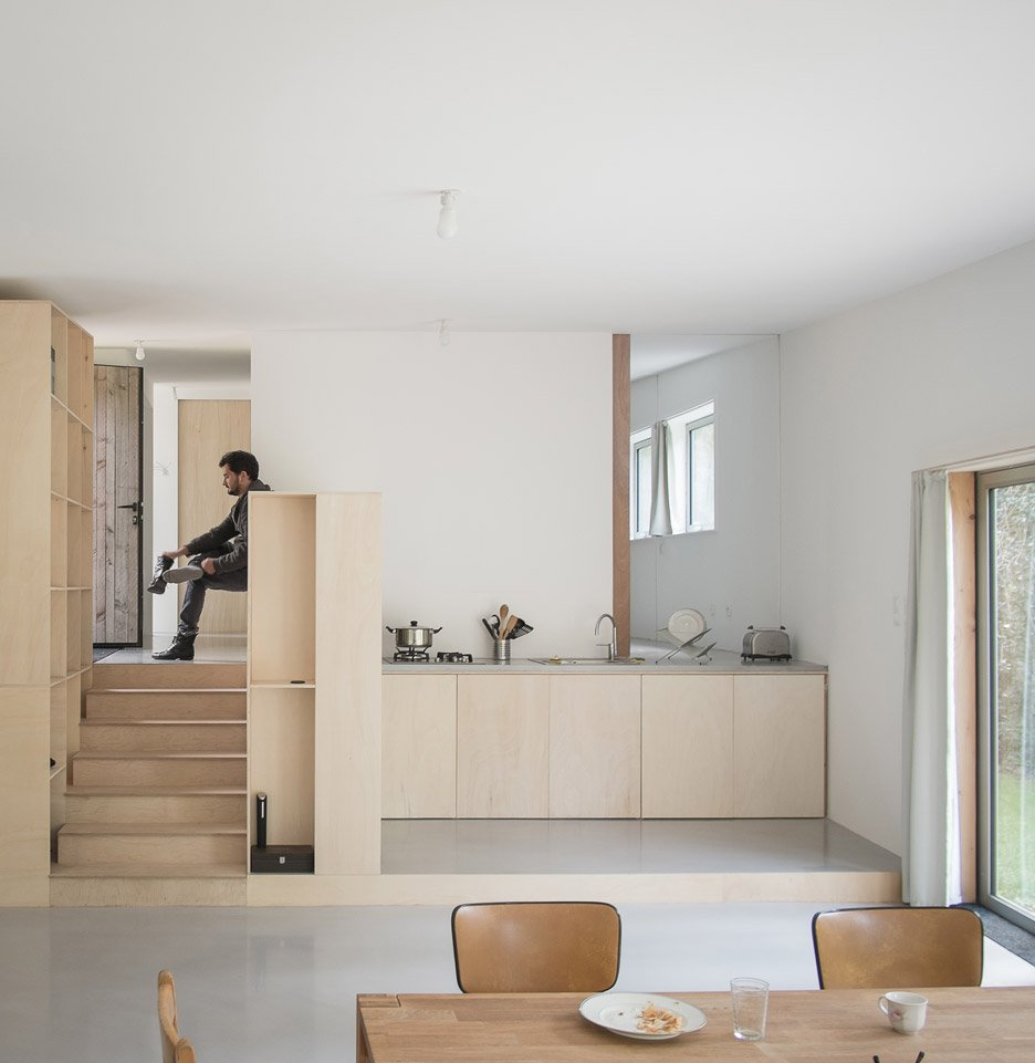 Maison JJ & SM by Atelier MIMA