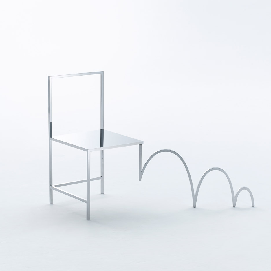Manga chairs by Nendo