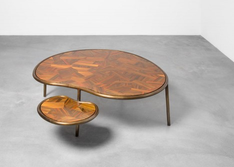 Animal Center Table, 2016. Courtesy of Carpenters Workshop Gallery Manufatura new work exhibition by Brazilian designers and brothers Humberto and Fernando Campana in Paris, France