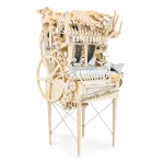 Wintergatan Marble Machine plays music with metal balls