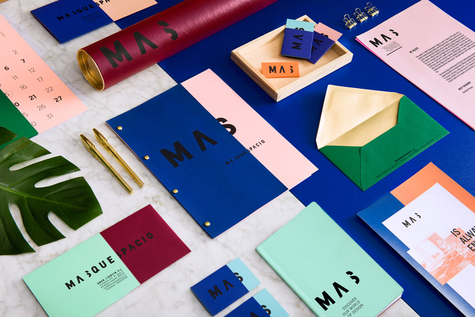 Masquespacio's Colourful Interior And Branding For Its Own Studio Amazing Interior Design Branding