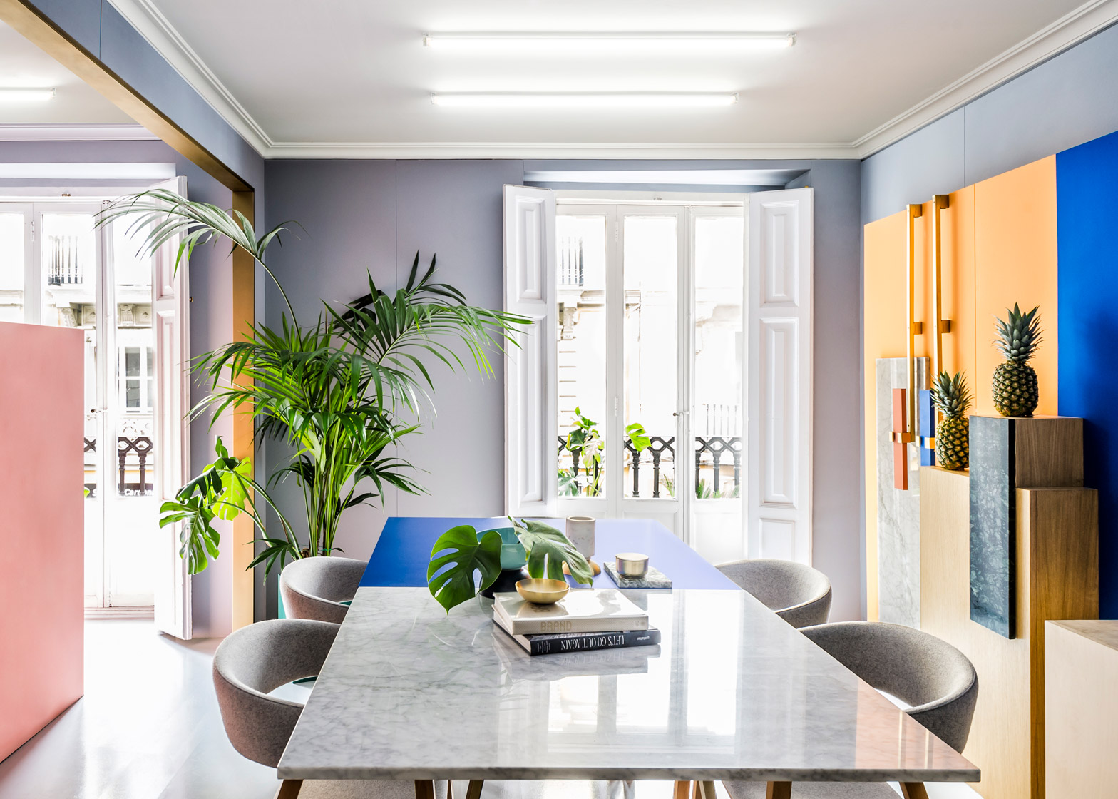 Masquespacio interior-design studio renovation in Valencia Spain